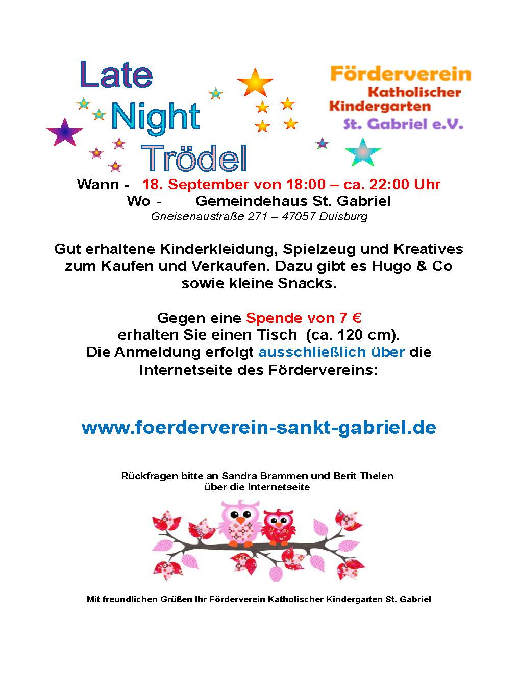 Flyer_LateNightTroedel_September